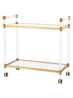 Bronson Bar Trolley by Blink at Gilt