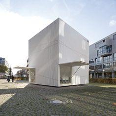 """Projekt """"HdA Kubus - Interimsquartier für das Haus...competitionline"""