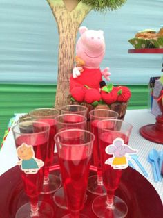 Peppa Pig Birthday Party Ideas | Photo 1 of 15