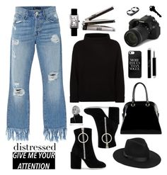 Give Me Your Attention by barngirl on Polyvore featuring polyvore, fashion, style, Jaeger, 3x1, Off-White, Diophy, Cartier, AS29, Lack of Color, Eos and clothing