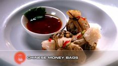 Chinese Money Bags Master Chef, Vegetarian Canapes, Masterchef Recipes, Middle East Food, Masterchef Australia, Money Bags, Latest Recipe, Mini Foods, Fabulous Foods