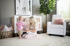 Shop With Confidence the Modern Grano Swivel Glider Recliner Chair by Monte Design. Stylish, glider recliner, swivel gliding chair for the nursery. Glider Recliner Chair, Glider Rocking Chair, Modern Nursery Furniture, Nursery Modern, Kailee Wright, Modern Kids, Kid Spaces, Baby Room