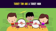 Turkey Tom and a Turkey Mom Song for Kids   Fun Thanksgiving Songs for Children   The Kiboomers
