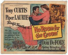 No Room for the Groom Movie Posters From Movie Poster Shop