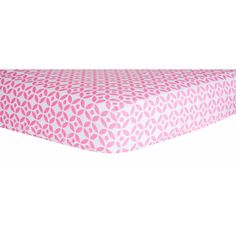 Trend Lab Girl's Lily Lattice Fitted Crib Sheet