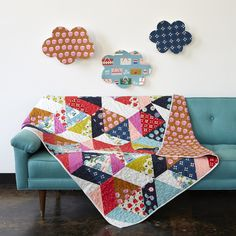 Cotton + Steel  Picnic Quilt Pattern