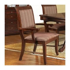 Online shopping discount Louis Arm Chair (Set of 2)