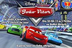 Convite digital personalizado Carros da Disney 004