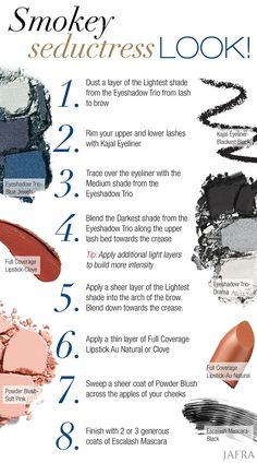 Smokey eyes pair perfectly with pretty, understated lips. Achieve the sexy, seductive look in these 8 easy steps!