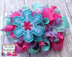 Snowflake 1 Feltie - 2 Sizes!   What's New   Machine Embroidery Designs   SWAKembroidery.com The Little Stitch Shop