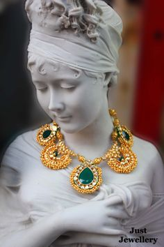 Adorning gold beauty.!!!  Price - 15,500/-  Place your order by sending us an email to justjewellery08@gmail.com