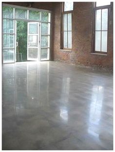 poured concrete floor | Poured Concrete Floors | Concrete paver driveway