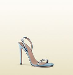 Gucci - mallory crystal embellished suede sandals 370462J17907880
