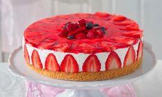 recipe- Jahodový dort