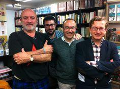 Antonio Santos, Diego Moreno, Jesús Marchamalo y José Luis Melero.