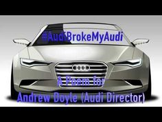 Emissions Scandal Poem for Andrew Doyle @ Audi - VW - #AudiBrokeMyAudi