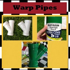 Mario Kart Warp Pipes