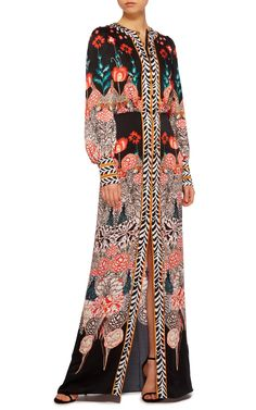 Blaze Printed Sleeved Dress