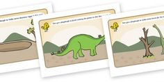 Dinosaurs Playdough Mats
