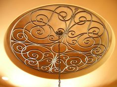 Faux Wrought Iron - Ceiling Medallion Insert. | Flickr - Photo Sharing!
