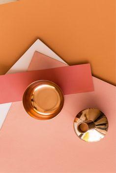 La couleur de l'année est l'orange confite, déclinée en satin et cuivré. Laquelle préférez vous ?