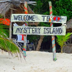 Welcome to Mystery Island