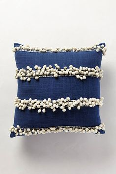 Anthropologie Tassel Trace pillow just make it Diy Pillows, Decorative Pillows, Throw Pillows, Textile Patterns, Textiles, Fibre Textile, Dreams Beds, Soft Furnishings, Good Night Sleep