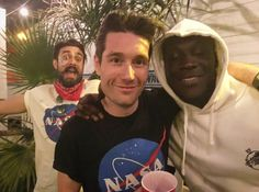 with Stormzy and Kyle at Coachella