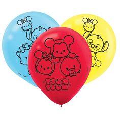 Tsum Tsum Party Supplies, Tsum Tsum Latex Balloons, Party Decorations