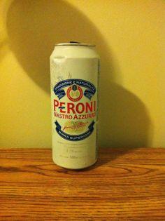 Peroni Nastro Azzurro - Italian birra