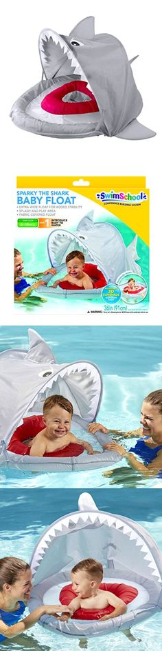 Training Aids 159175: Shark Shade Baby Float Confidence Building System Swim School Summer Pool Fun -> BUY IT NOW ONLY: $39.87 on eBay!