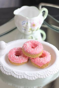 Sugar Cookie Donuts - Lovely Little Kitchen