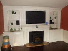built in fireplace with book selfs | fireplace built in fireplace built in select another service gallery ...