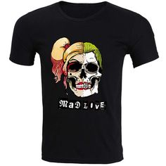 The Joker Mad Love T Shirt- Mens Fasion     Tag a friend who would love this!     FREE Shipping Worldwide     Buy one here---> http://www.worldofharley.com/top-fashion-men-t-shirts-suicide-squad-mad-love-the-joker-comic-movie-cotton-t-shirt-man-funny-harajuku-euro-size-s-3xl-fitness/