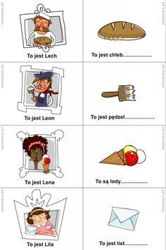 Learn Polish, Polish Language, Kids Logo, Diy And Crafts, Teaching, Education, Poland, Blog, Speech Language Therapy