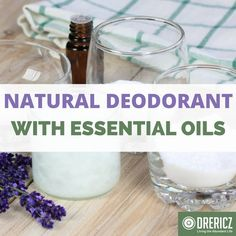 When making this all natural, homemade deodorant recipe, you can get creative with your scent of choice by using a variety of essential oils.