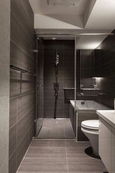 Incredible Modern Bathroom Shower Ideas For Small Bathroom 34