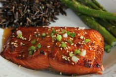 Sesame Ginger Salmon — Wholly Delicious
