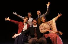 Tintypes cast at Pendragon Theatre. Tintypes opens July 2nd.