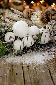 DIY Snowballs - Magnolia Homes