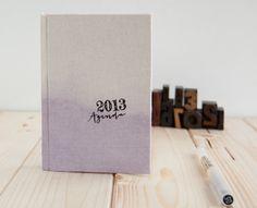2013 Weekly Planner Ombre Dip Dye Lavander. €18.50, via Etsy.