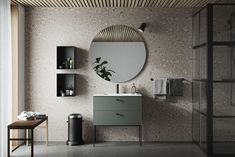 So we are preparing our bathrooms 2020 - 5 major trends 5 bathroom trends - how to decorate our bathrooms 2020 Grey Bathroom Cabinets, Green Bathroom, Trendy Bathroom, Bathroom Trends, Diy Bathroom Decor, Bathroom Mirror, Amazing Bathrooms, Bathroom Decor, Grey Bathrooms