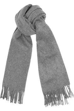 Acne Canada brushed-wool scarf