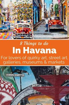 Get this art lover's guide to Havana. These cultural things to do in Havana include Callejon de Hamel, street art, Bellas Artes museum and artisan markets