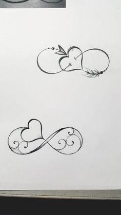 Unendliches Herz Tattoo - Unendliches Herz Tattoo - to make temporary tattoo crafts ink tattoo tattoo diy tattoo stickers Mini Tattoos, Wrist Tattoos, Cute Tattoos, Beautiful Tattoos, Body Art Tattoos, Tattoo Drawings, Small Tattoos, Tatoos, Tattoo Forearm