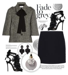 """""""Venice nights ❤"""" by teryblueberry ❤ liked on Polyvore featuring Dsquared2, RED Valentino, Nails Inc., Bobbi Brown Cosmetics, Topshop, Balenciaga, Valentino and Tasha"""