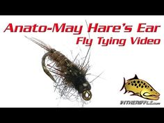 Anato-May Hare's Ear Fly Tying Video Instructions - Skip Morris Fly Pattern - YouTube