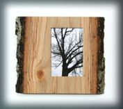 organic natural wood photo frames these great frames are handcrafted using wood from trees that have - Natural Wood Frames