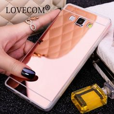 LOVECOM  DIY Material Ultra Slim Mirror Soft TPU Phone Cover Coque For Samsung Galaxy S7 / S7 Edge  Grand Prime G530 #clothing,#shoes,#jewelry,#women,#men,#hats,#watches,#belts,#fashion,#style