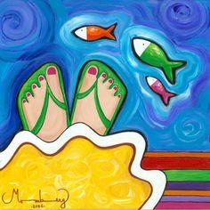 """Karin Momberg """"Sueños de color pies"""""""